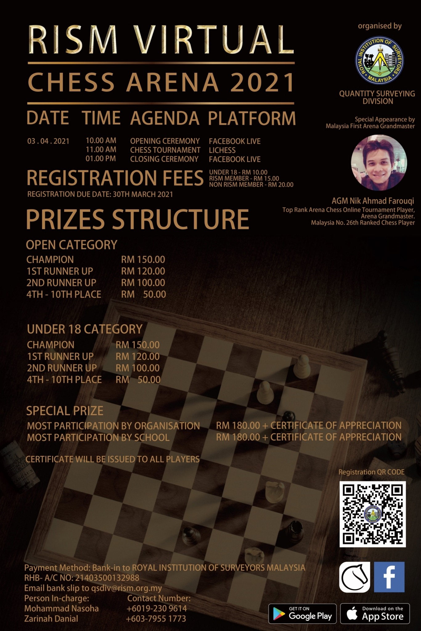 RISM Virtual Chess Arena 2021